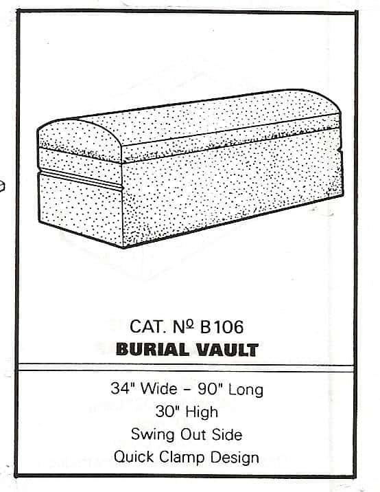 Precast Concrete Burial Vault Forms
