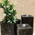 Art Slice Candle Holder and planter