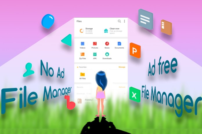 Best Ad free file manager for android