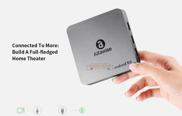 Grab The Alfawise A8 NEO TV Box Android 9 0 For Just $26 99 at