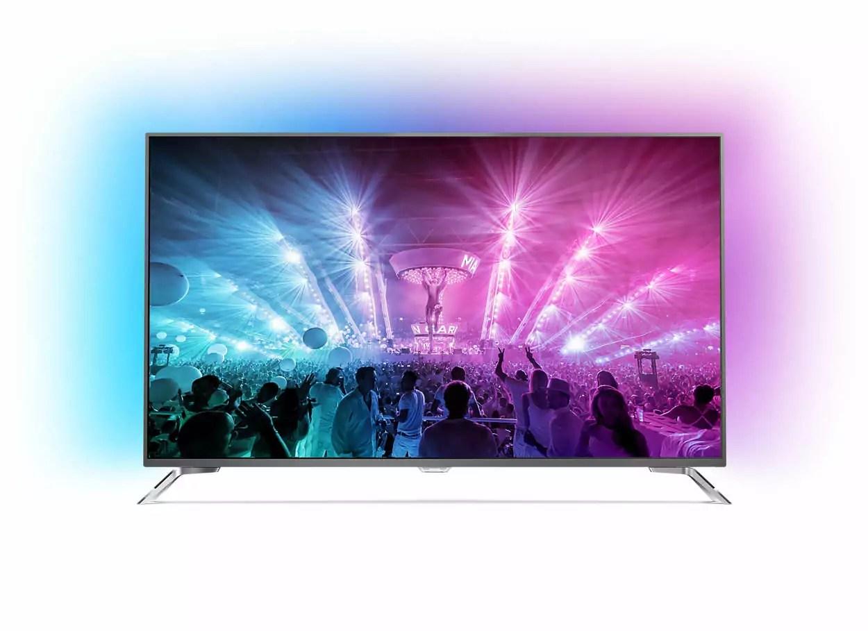 65pus7101 la tv philips en 65 pouces avec ambilight. Black Bedroom Furniture Sets. Home Design Ideas