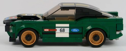 LEGO 1968 Ford Mustang Fastback 75884 Side