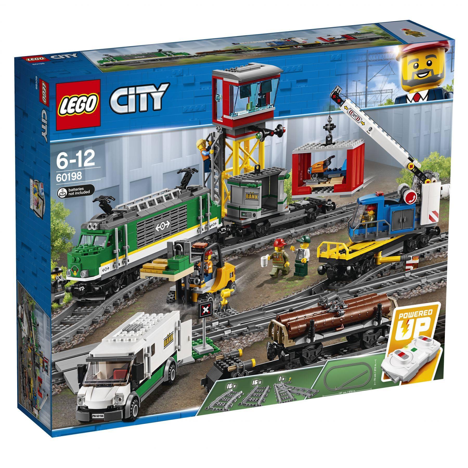 LEGO city cargo train 2018 (set 60198) box front