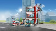 LEGO City Hospital (set 60204) Front Angle