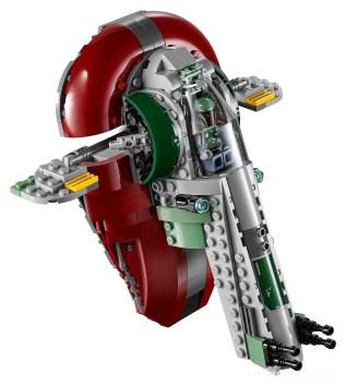 LEGO Star Wars 75222 Betrayal At Cloud City - Slave 1 flying High Res