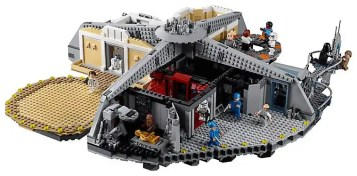 LEGO Star Wars 75222 Betrayal At Cloud City - playset rear