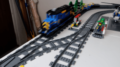 How to hack LEGO Train Junctions for Shorter Crossovers - photo 5