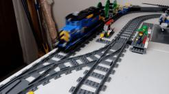 LEGO City Trains Emergency Station with 60052 Train