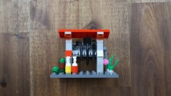 LEGO City Train Emergency Station finished LEGO MOC