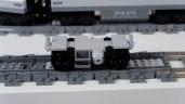 Modified LEGO City Passenger Train 60197 Jacobs Bogie