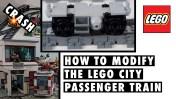Modified LEGO City Passenger Train 60197 GJBricks Tutorial Teaser 2