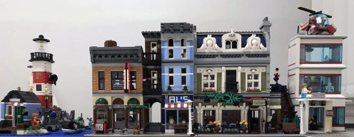 Studsburg Custom LEGO City Update #5 - Main Street