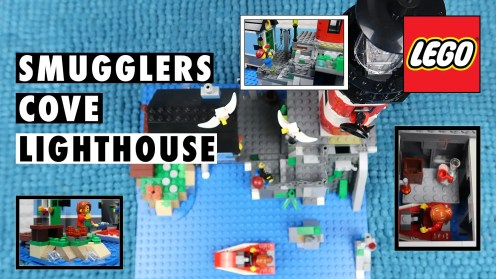 LEGO Moc Smugglers Cove Lighthouse