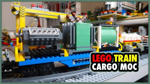 LEGO City Train Custom Cargo MOCs