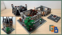 Custom LEGO MOC Sanctum Sanctorum Showdown Modular (76108) YouTube Video thumbnail