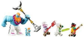 LEGO Monkie Kid Monkie Kid's Team Secret HQ 80013 - 8 Minifigures Good