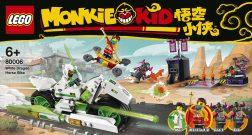 LEGO Monkie Kid White Dragon Horse Bike 80006 - 1 box front