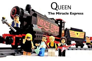 lego ideas 2020 news - Queen - The Miracle Express by Artistic Shadow