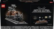 LEGO Crocodile Locomotive (10277) - Box Back