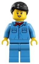 LEGO Crocodile Locomotive (10277) - Minifigure two