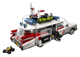 10274 LEGO Ghostbusters Ecto 1 - rear angle door open