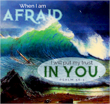 When the storms of life assail and shake us, remember God is in control. Trust in Him when you are afraid. God is with the Christian and hears his prayer.