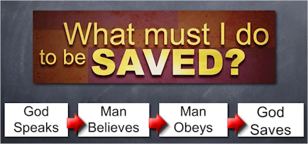 Salvation is needed when our sin separates us from God. What must we do to obtain the salvation that God has prepared for us? How can we be saved from sin? God has done His part, we must do ours.
