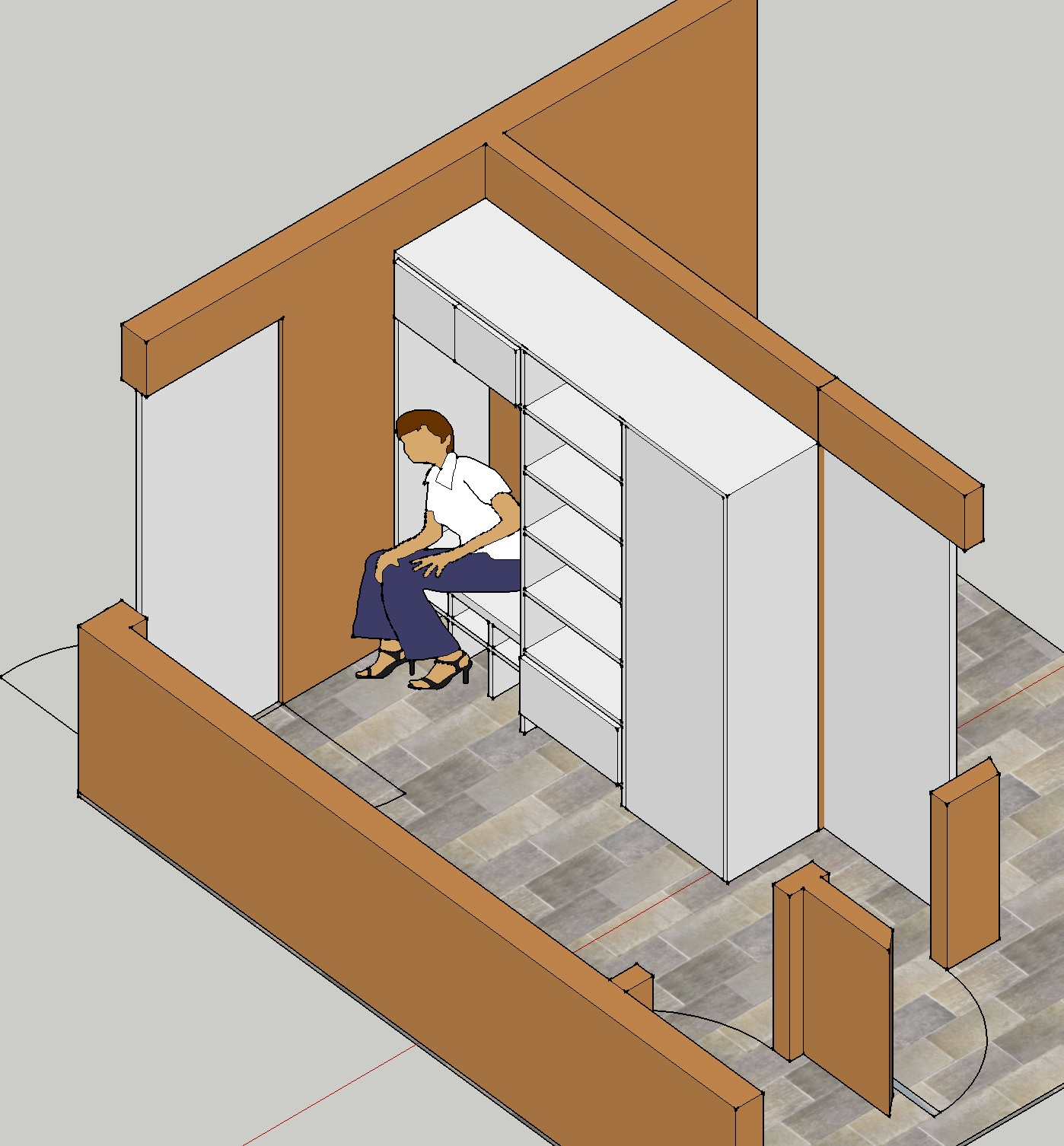 Design Flaws  Small Home Builder  Mud Room  gjconstructs