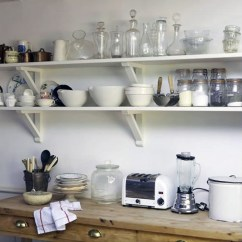 Kitchen Shelving Ideas Cabinet Refacing Los Angeles Cottage Kitchens Cabinetry And Hardware Continued