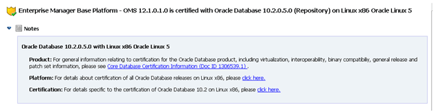 Install Oracle Enterprise Manager (OEM) Cloud Control 12c on OEL 6.1 (5/6)