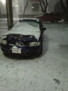 """Así fue la """"nevada"""""""