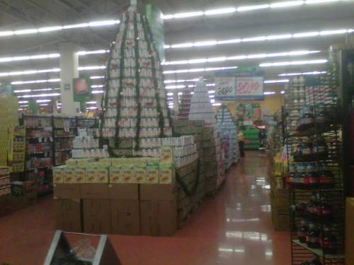 Supermercado Navideño