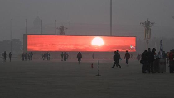 Amanecer en China
