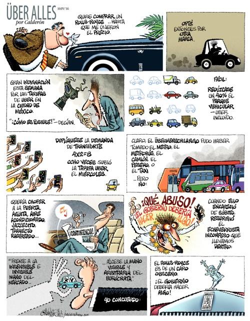 Uber Alles, por Paco Calderón vía Monoaureo.com