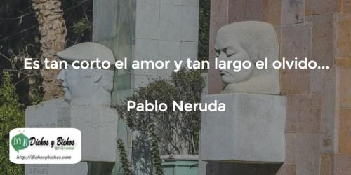 Amor y Olvido - Neruda