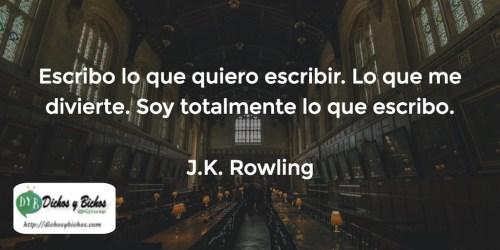 Escribir - Rowling
