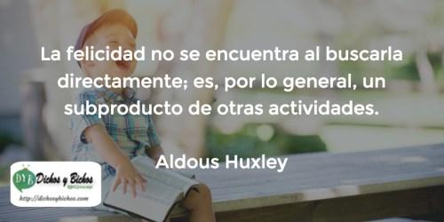 Felicidad - Huxley