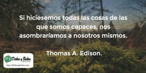 Capacidad - Edison