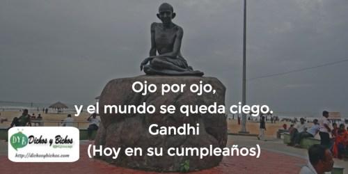Ceguera - Gandhi