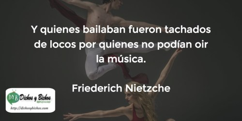 Bailarines - Nietzche