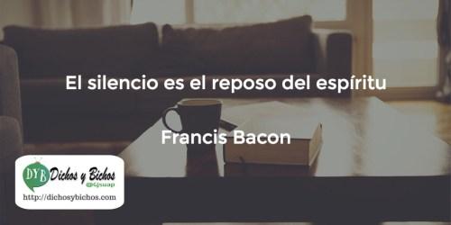 Silencio - Bacon