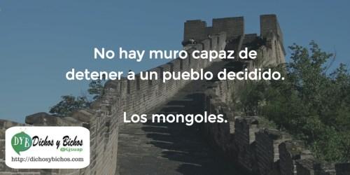Muro - Mongoles