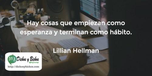 Hábitos - Hellman