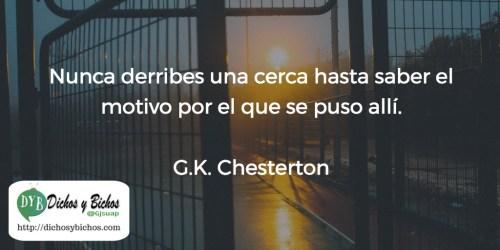 Cerca - Chesterton