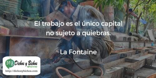 Trabajo - La Fontaine