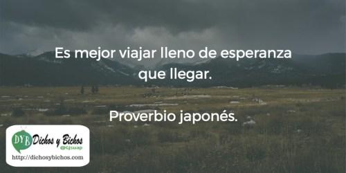 Esperanza - Proverbio Japonés