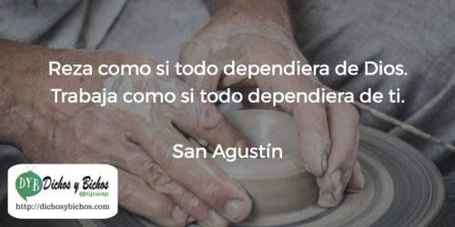 Reza y trabaja - San Agustín