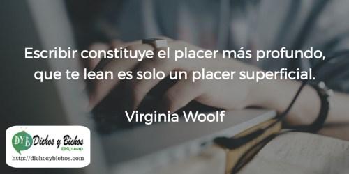 Escribir - Woolf