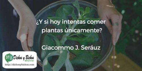 Comer plantas - Seráuz