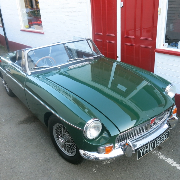MG B Roadster - G J Wisdom Commercial Auctioneers (Bexley, London)